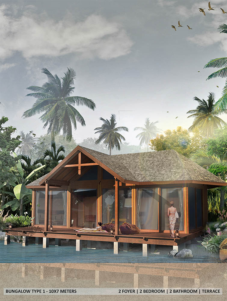 2 BEDROOMS ECO LODGE